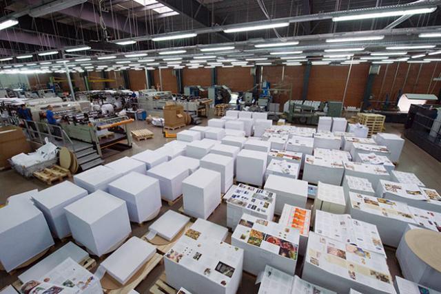 Работа в типографии в Нюрнберге, 1500€/мес