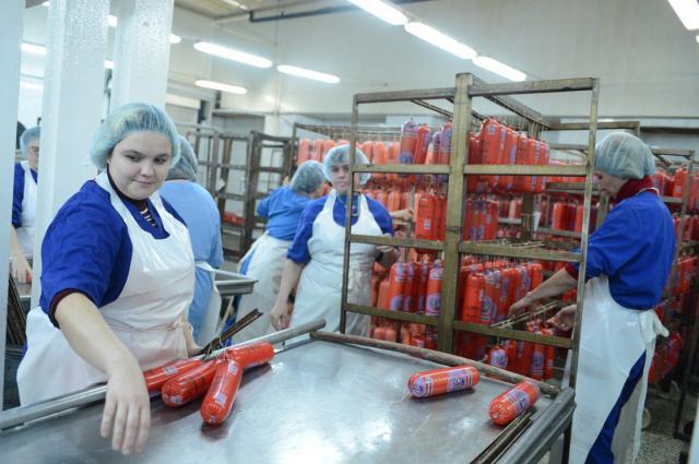 Работа в Англии на мясной фабрике