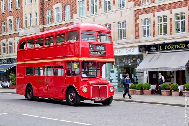 Водители автобуса в Лондон